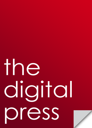the digital press large logo